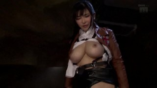 Mom Ass  : Anri Okita Colossal Tits Mikasa segment only